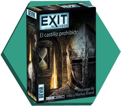 Portada de Exit: El castillo perdido