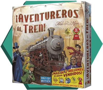 Portada de ¡Aventureros al tren! (Ticket to ride!)