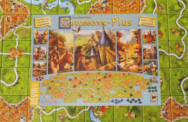 Carcassonne Plus, un clásico de los juegos de mesa modernos