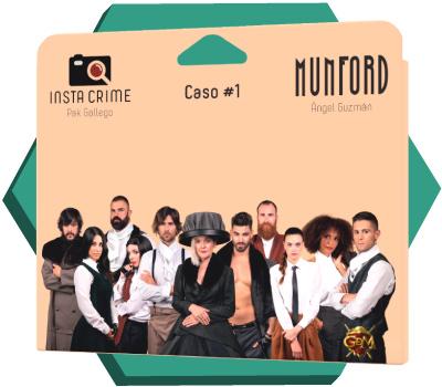 Portada de Instacrime: El caso Munford