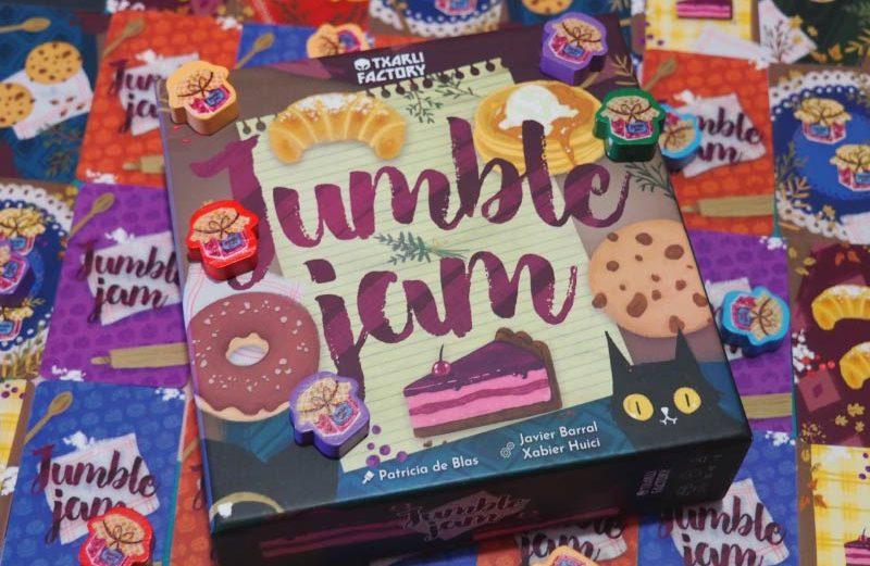 Jumble Jam, un juego de mesa de irresistible dulzura lúdica
