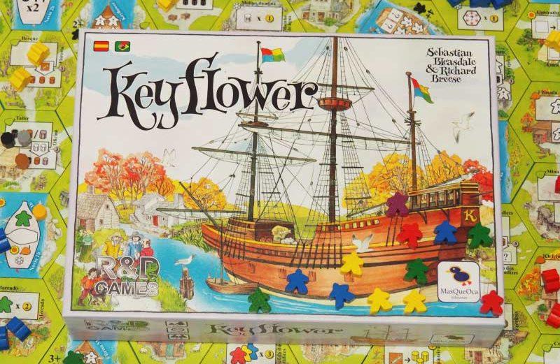 Keyflower, el juego de mesa donde colonizar nuevos territorios