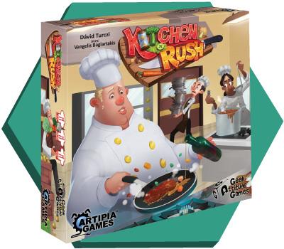 Portada de Kitchen Rush