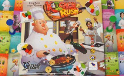 Los fogones nos esperan en este juego de mesa de cocina en tiempo real