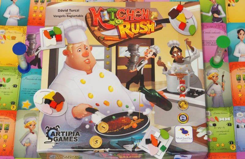 Kitchen Rush, el juego de mesa para vivir el caos de la cocina