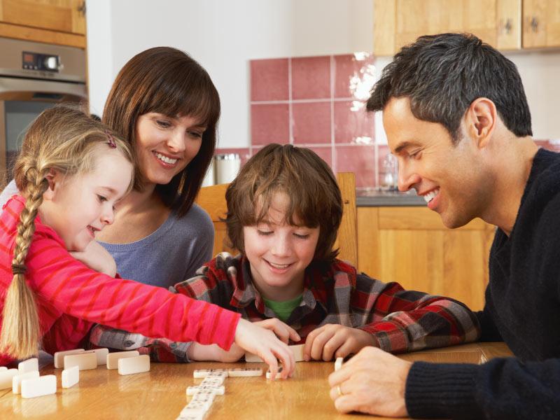 No hay nada más bonito que jugar en familia