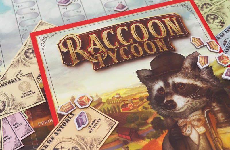 Raccoon Tycoon, el juego de mesa que nos lleva a Astoria