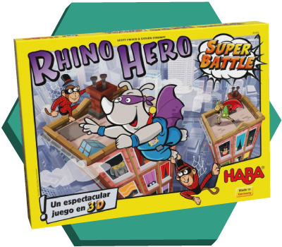 Portada de Rhino Hero: Super Battle