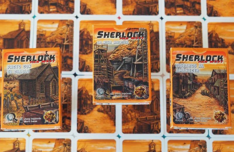 Sherlock Far West, una nueva saga de intriga de GDM Games