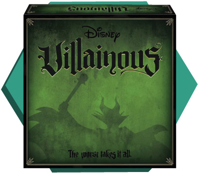 Portada de Disney Villainous