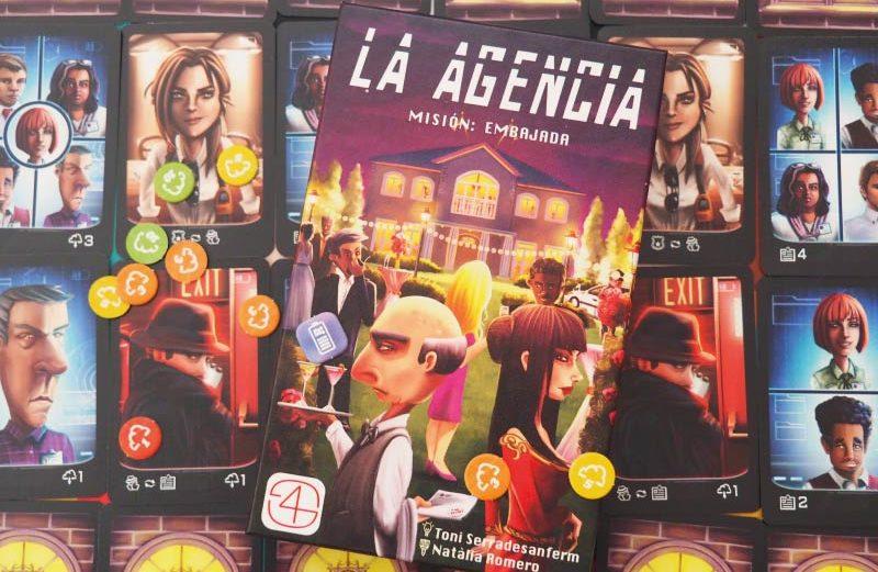 La Agencia: Misión Embajada, el juego de mesa de espías