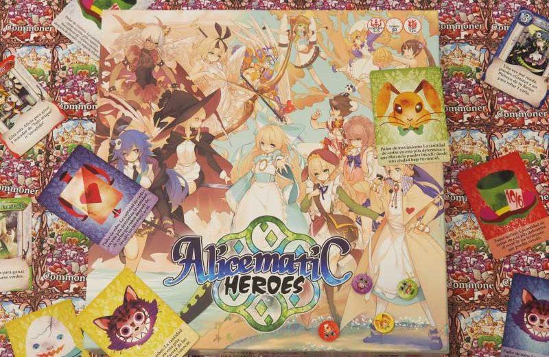 Alicematic Heroes, el juego de mesa de conquista de territorios