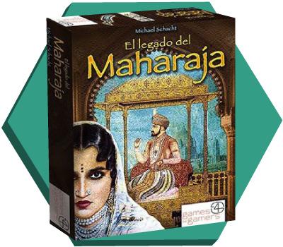 Portada de El legado del Maharajá