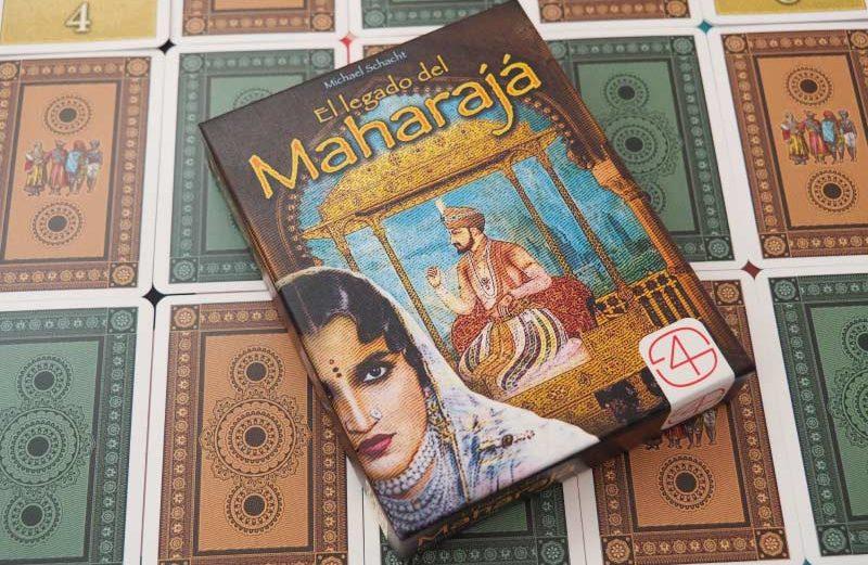 El legado del Maharajá, un juego de mesa de recopilar reliquias