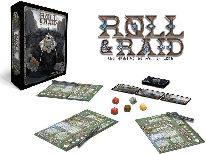 Presentación del juego y setup de Roll & Raid
