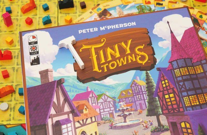 Tiny Towns, el juego de mesa de construcción de mini-ciudades