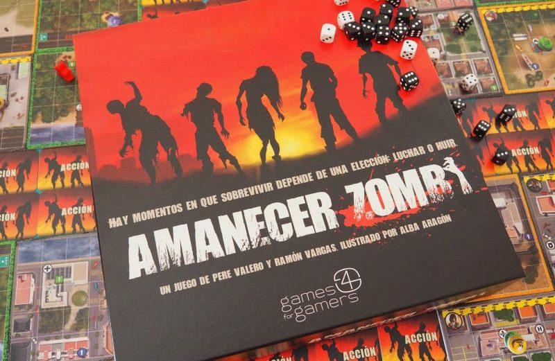 Amanecer Zombi, el juego de mesa en el que luchar… ¿o huir?