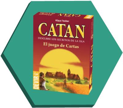 Portada de Catán, el juego de cartas