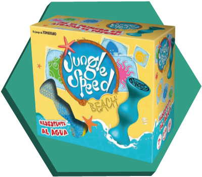 Portada de Jungle Speed Beach