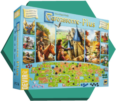 Portada de Carcassonne Plus