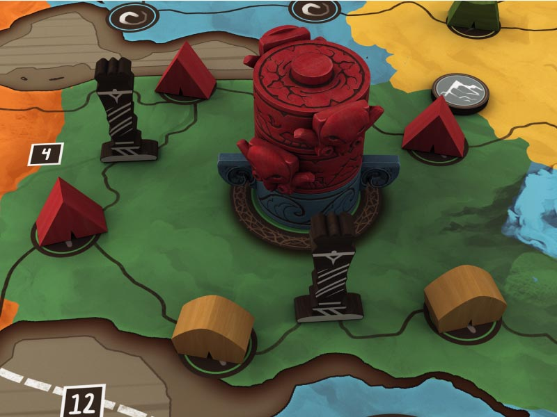 Iwari: un juego de Michael Schacht