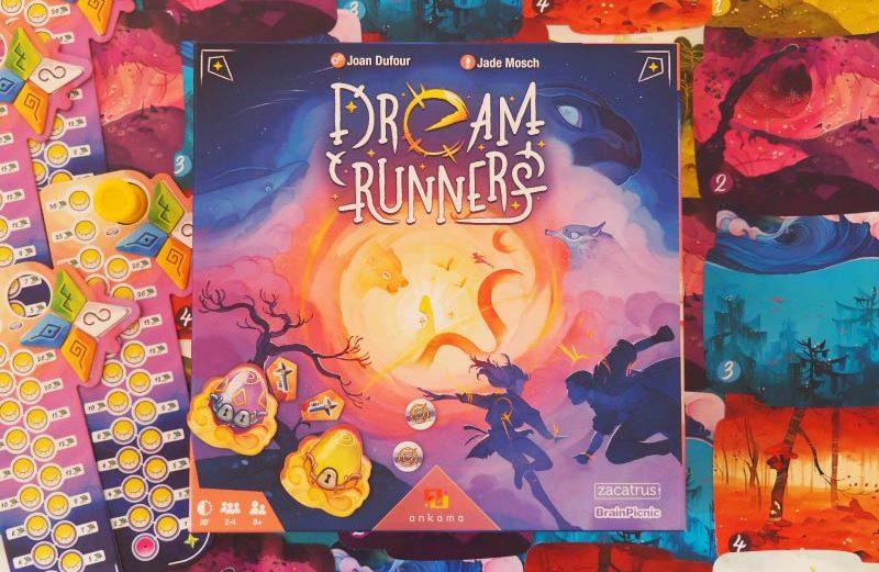 Dream Runners, el juego de mesa para atrapar sueños