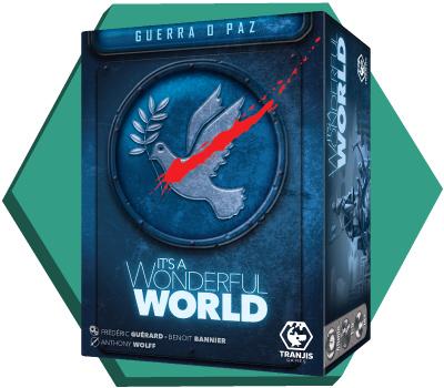 Portada de It's a Wonderful World: Guerra o Paz