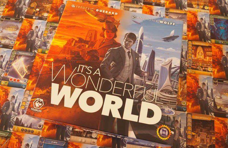 It's a Wonderful World, el juego de mesa donde crear un nuevo mundo