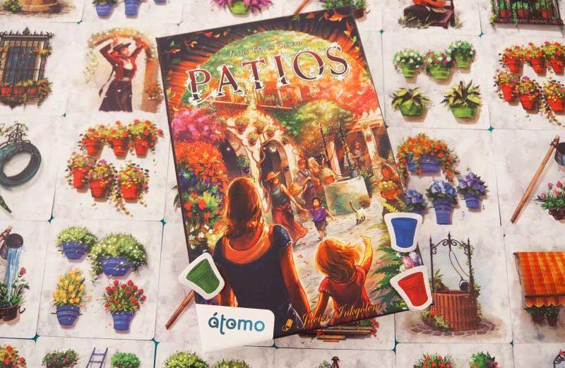 Patios, el juego de mesa que atrapa la belleza andaluza