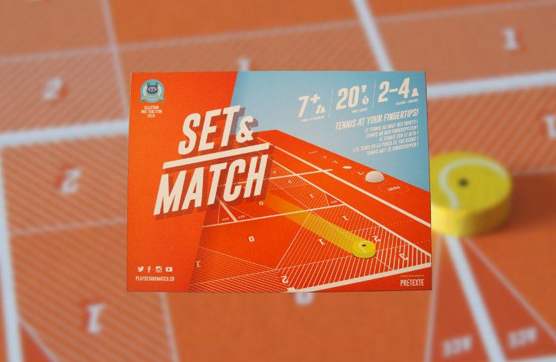 Set & Match, el juego que nos traslada a una pista de tenis