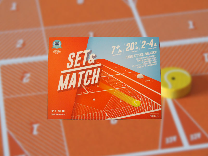 El juego de mesa en el que jugaremos un partido de tenis