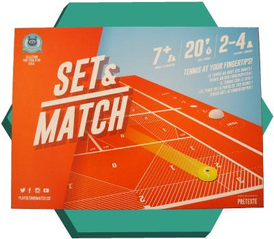 Portada de Set & Match