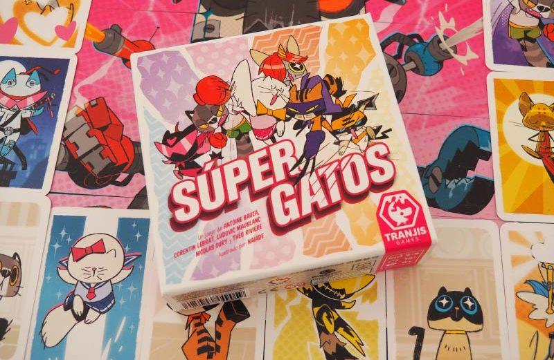 Súper Gatos, el juego de mesa de lucha gatuna y perruna