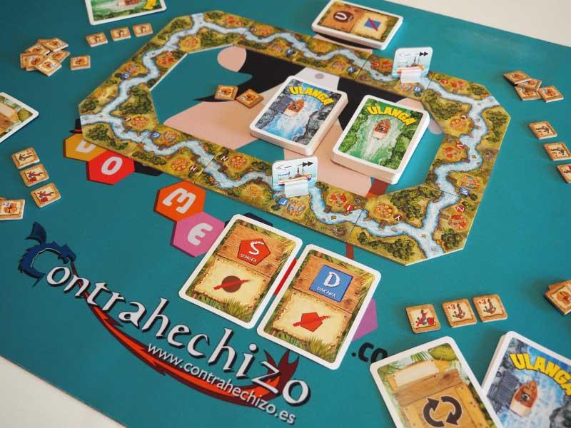 Transcurso de una ronda de juego de Ulanga