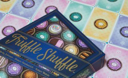 Un sabroso juego de mesa de bombones trufados