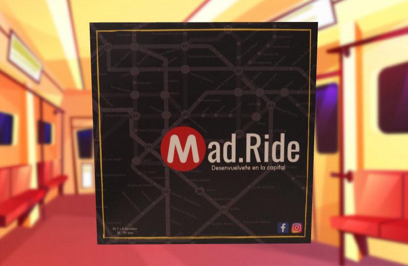 Mad.Ride, el juego de mesa de la movilidad urbana en Madrid