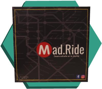 Portada de Mad.Ride