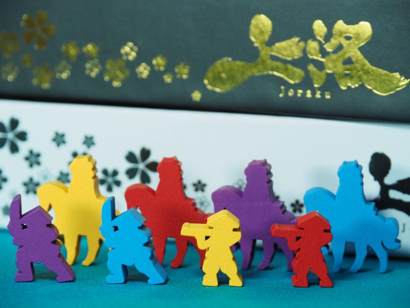 Cada jugador controlará un set de figuras en camino a Kioto