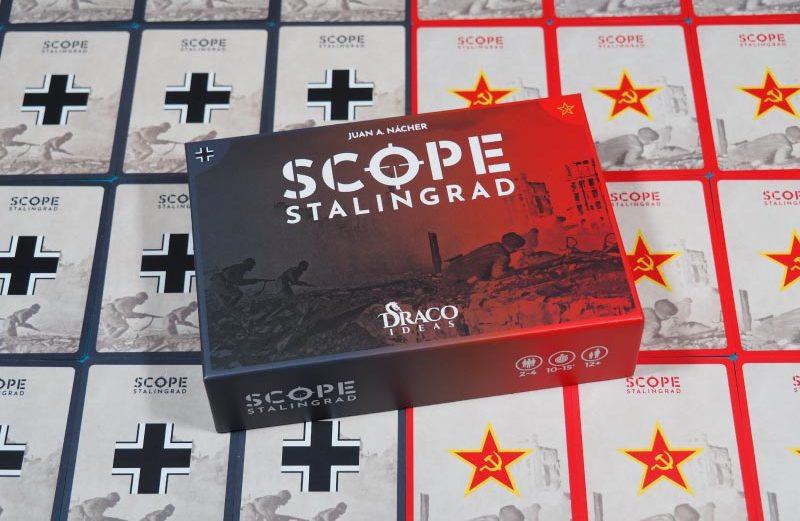 SCOPE Stalingrad, el juego de mesa de francotiradores