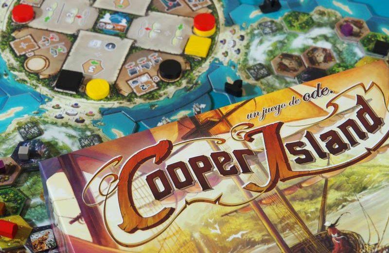 Cooper Island, el juego de mesa para intrépidos exploradores