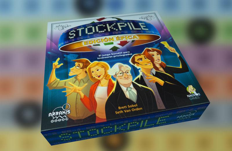 Stockpile Edición Épica, el juego de mesa bursátil para inversores