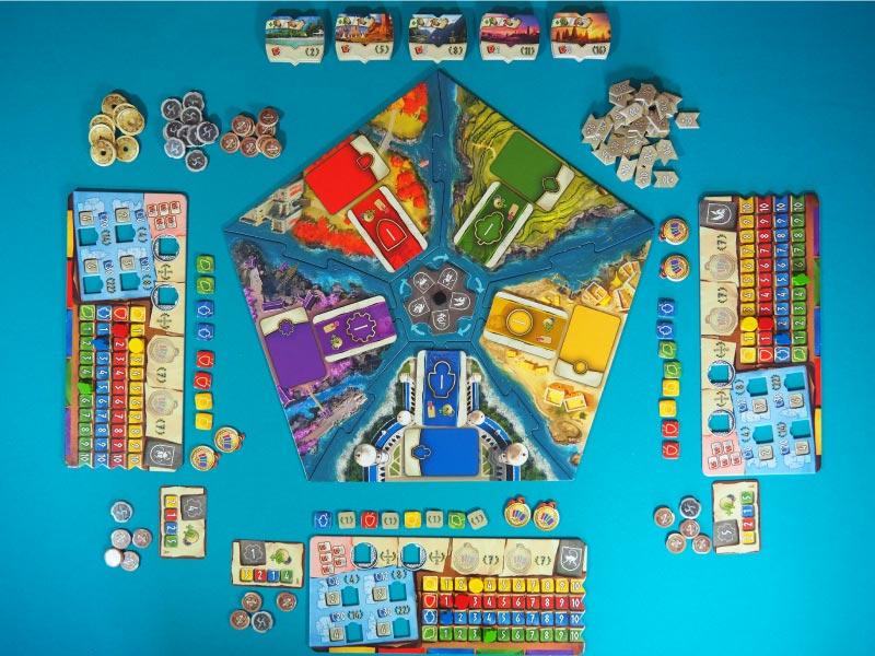 Todo listo para jugar Hadara a 4 jugadores