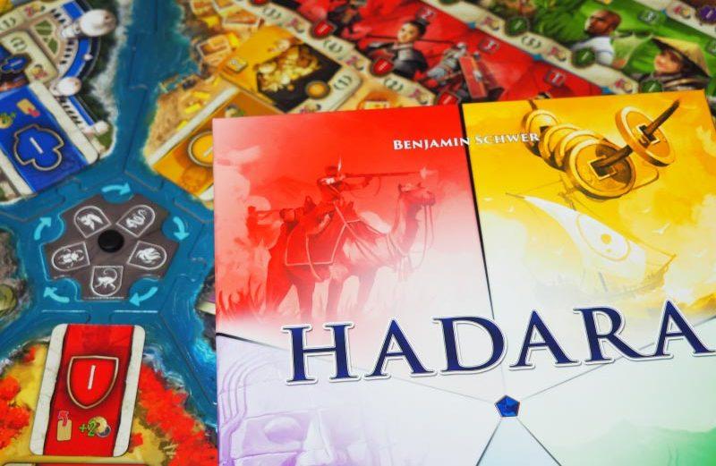 Hadara, el juego de mesa de desarrollo de civilizaciones