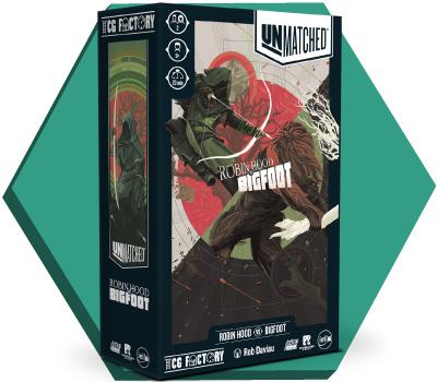 Portada de Unmatched: Robin Hood vs Bigfoot