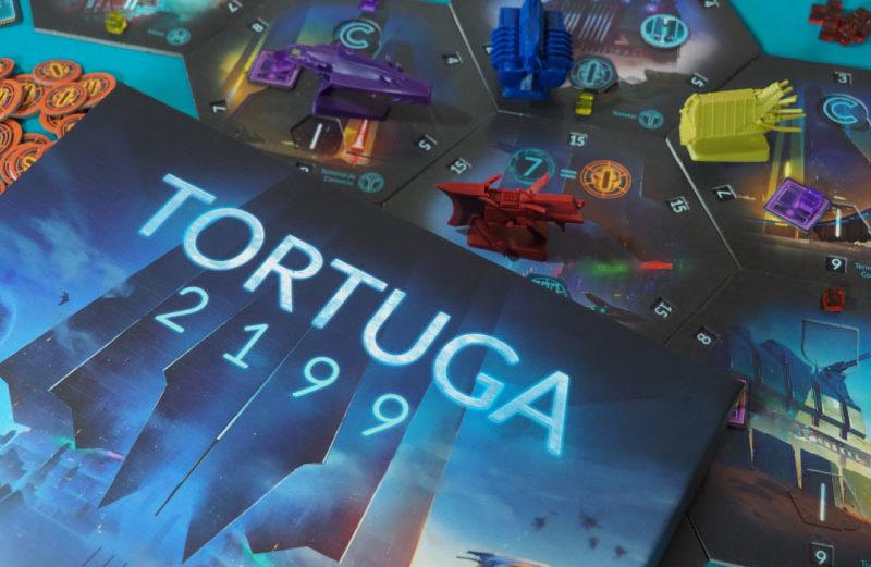 Tortuga 2199, el juego de mesa de piratas interestelares