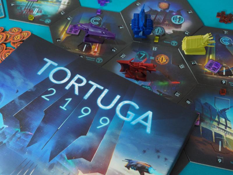 Tortuga 2199, el deckbuilding de conquista espacial