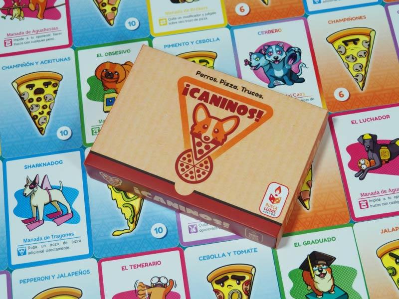 El juego de perros, pizzas y mapaches pronto en Verkami