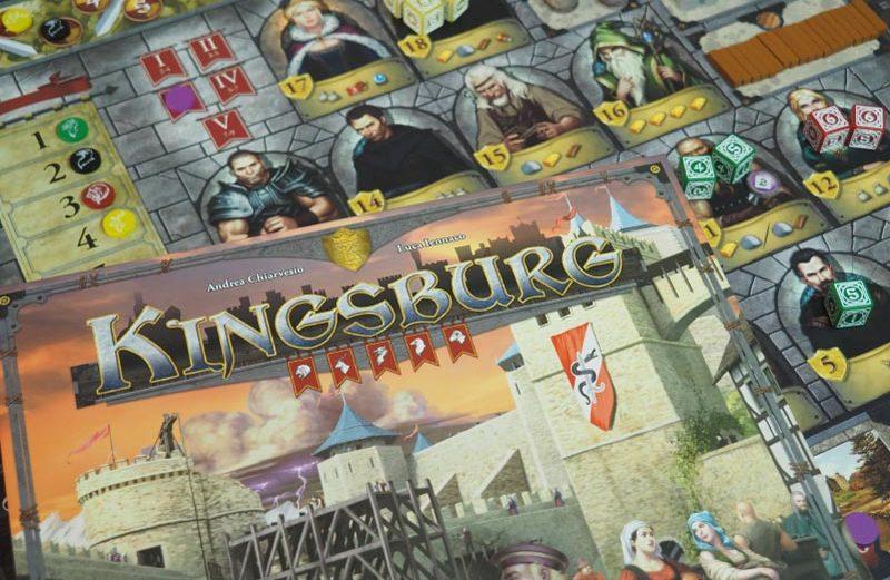 Kingsburg, un euro de colocación de dados