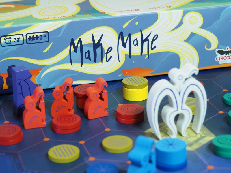 En busca del favor del dios Make Make
