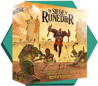 Portada de The Siege of Runedar